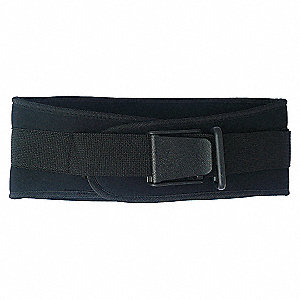 BACK SUPPORT 6 IN WDE NYLON BLK 2XL