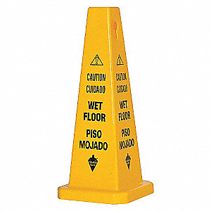 TRFC CONE KIT,SAFETY FIRST,YELLOW