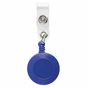 RETRACTABLE REEL,BLUE,PK 5