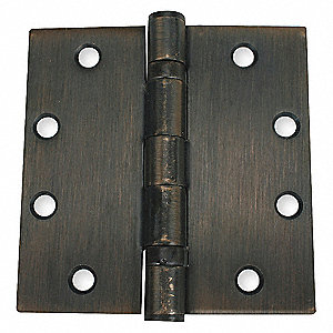 HINGE,FULL MORTISE,BALL BEARING,PK