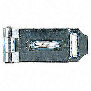 HINGE HASP,SS,L 7-1/2 IN