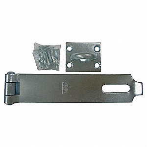 LATCHING STAPLE SAFETY HASP