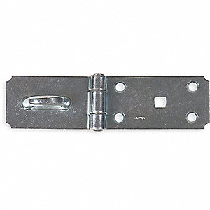 SAFETY HASP,STEEL,7-1/4 IN,1-3/4 IN