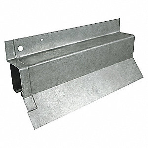 Grainger Approved Covered Box Rail Steel L 120 In