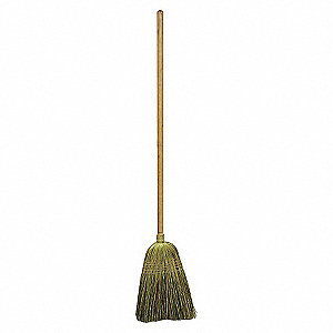 JAIL BROOM,56 IN. OAL,17IN. TRIM L