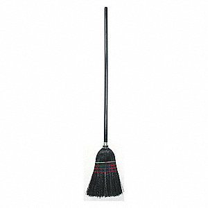 FLOOR BROOM,56 IN. OAL,11IN. TRIM L