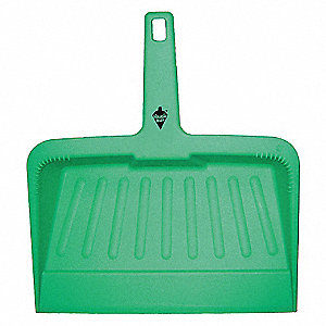 HAND HELD DUST PAN,PLASTIC,12 IN W,