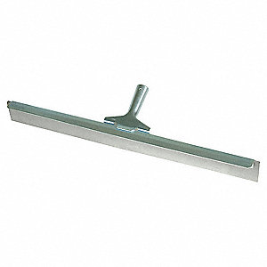 FLOOR SQUEEGEE,GRAY,24 IN