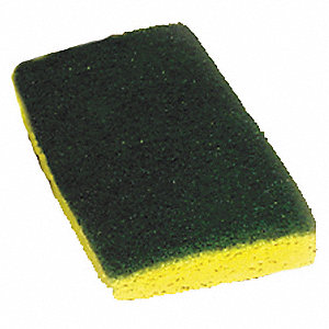 SCOURING PAD,8-7/8IN L,5-7/8IN W,PK
