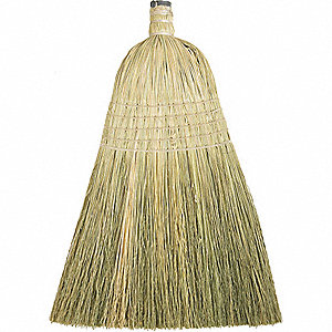 HOUSEHOLD BROOM HEAD,12 IN OAL,100P