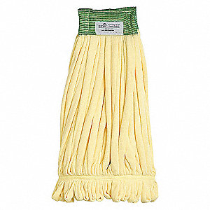 LOOP END FINISH MOP,MEDIUM,YELLOW
