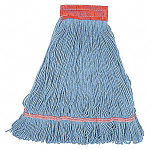 WET MOP,LARGE,BLUE,LOOPED END
