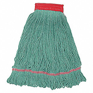WET MOP,LARGE,GREEN,LOOPED END