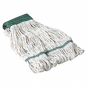 WET MOP,ANTIMICROBIAL,MEDIUM,WHITE