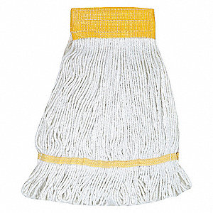 WET MOP,ANTIMICROBIAL,SMALL,WHITE