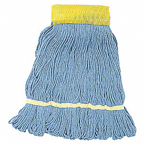 WET MOP,SMALL,BLUE,LOOPED END