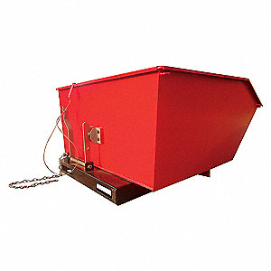 LOW PROFILE HOPPER,6000 LB,1 CU YD