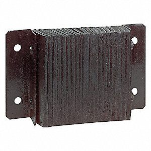 DOCK BUMPER,12X32 3/4IN,RECTANGULAR
