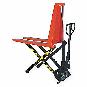 MANUAL PALLET LIFTER,2200 LB.,27 IN