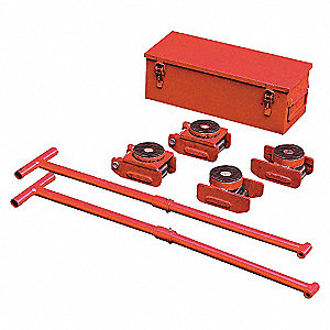 EQUIPMENT ROLLER KIT,8800 LB.,SWIVE