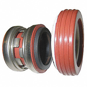 SHAFT SEAL,5/8 IN,VITON, CARBON, CE