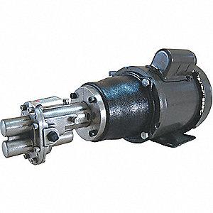 ROTARY GEAR PUMP, 316 SS, 3/4 HP, 1