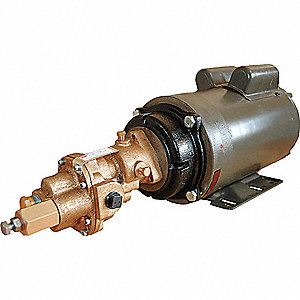 ROTARY GEAR PUMP, BRONZE, 3 HP, 3 P