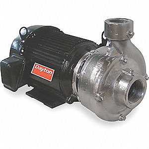 PUMP,CENTRIFUGAL,7.5 HP,18.8-17.8/8