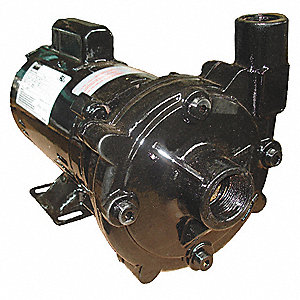 CENTRIFUGAL PUMP, 1 HP, 1PH, 115/2