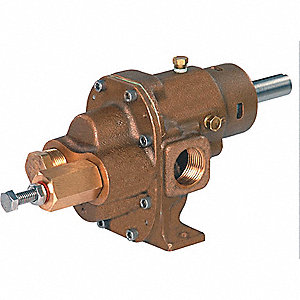 ROTARY GEAR PUMP HEAD, 3/4 IN., 3/4