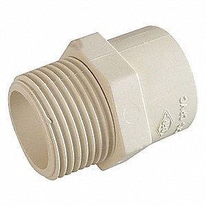 ADAPTER,1 1/2 IN,SLIP X MPT,CPVC