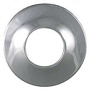 WALL FLANGE,PIPE I.D. 1 1/4 IN,PK 1