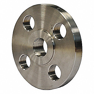 FLANGE,1-1/2 IN,THREADED,304 SS