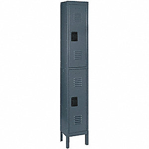 UNASSEM LOCKER,2 TIER,W 15,D 18,H78
