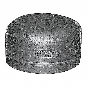CAP,3 IN,304 STAINLESS STEEL,150 PS