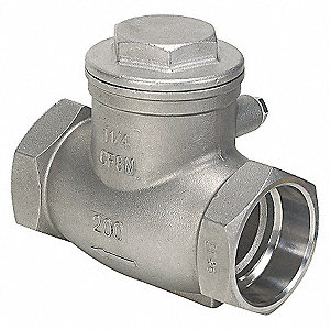 SWING CHECK VALVE,2 IN,SOCKET,316 S