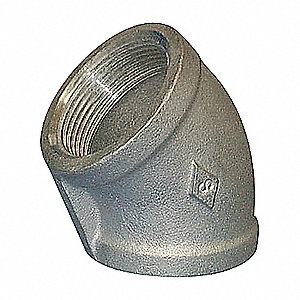 ELBOW,45DEG,1/2 IN,304 STAINLESS ST