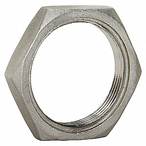 LOCKNUT,1/2 IN,304 STAINLESS STEEL