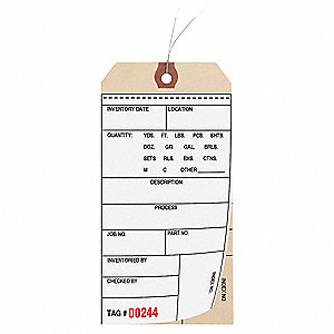 INSPECTION TAG,PAPER,INVENTORY TAG,