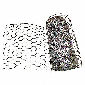 POULTRY NETTING,HEIGHT 72 IN, 50 FT