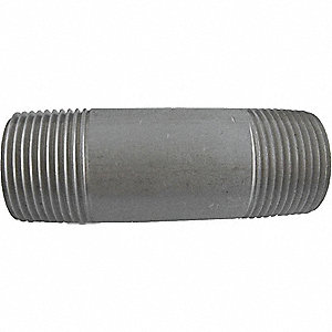NIPPLE,1 IN,316 SS,2 IN L,SCHEDULE
