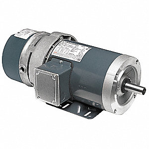 5 HP  Brake Motor,3-Phase,1755 Nameplate RPM,208-230/460 Voltage,Frame 184TC