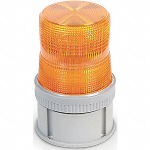 Warning Light,Strobe Tube,120VAC,Amber