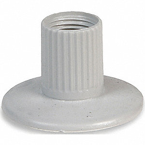 Stacklight Female Adapter Base,Gray