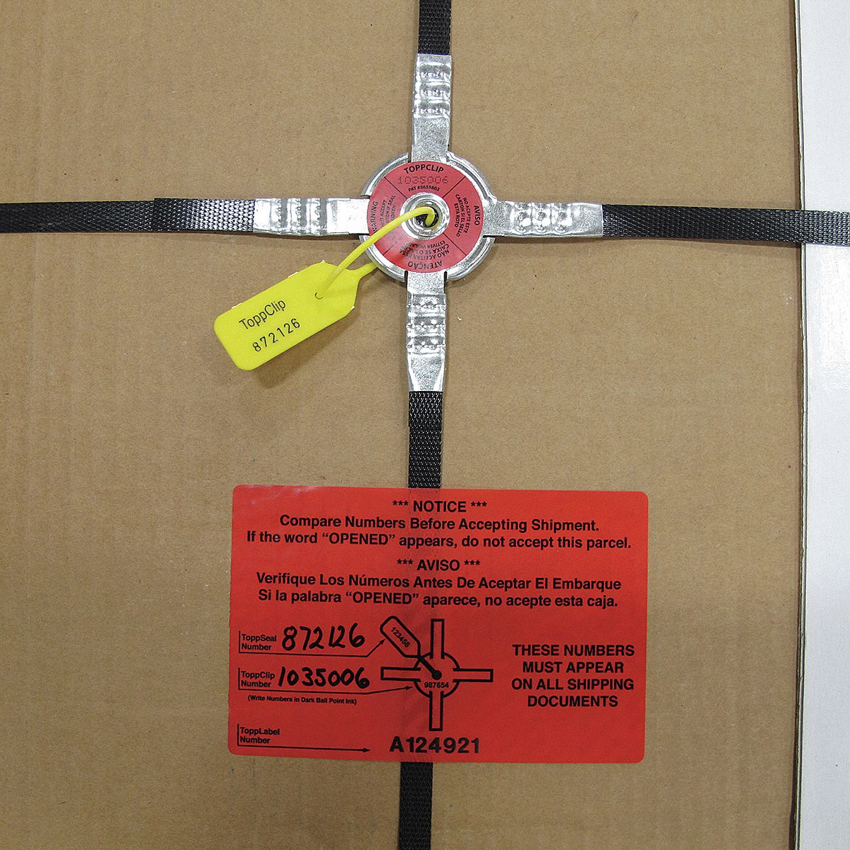 Pallet Tamper Resistant Kits And Tools