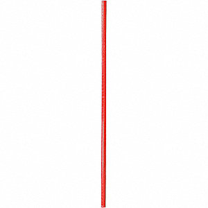 SHELF POST,74 IN.,RED,PK2