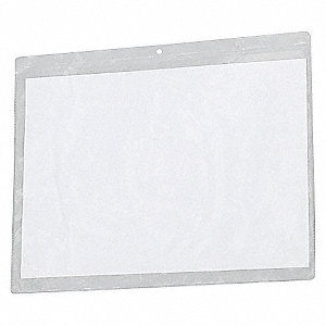 SHOP TICKET HOLDER,12X9,CLEAR,PK50