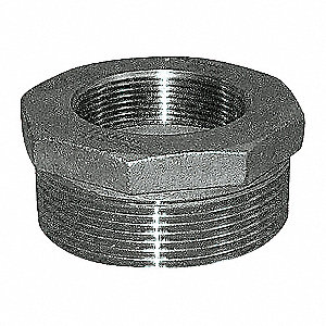 HEX BUSHING,2 1/2 X 2 IN,THREADED,3