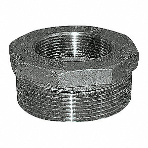 HEX BUSHING,1 X 3/4 IN,THREADED,316