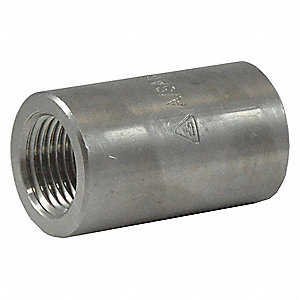 REDUCING COUPLING,3/8 X 1/4 IN,304